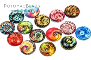 Jewelry Making Supplies & Beads / Cabochons Beads / Glass Cabochons