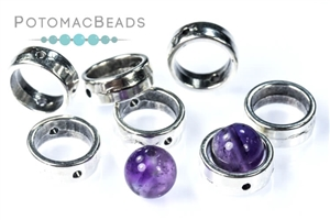 Potomac Exclusives / Potomax Findings and Metals / Halo Beads