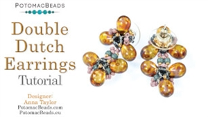 How to Bead Jewelry / Beading Tutorials & Jewel Making Videos / Earring Projects / Double Dutch Earrings Tutorial
