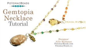 How to Bead / Free Video Tutorials / Wire Working Projects / Gemtopia Necklace Tutorial