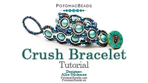 How to Bead / Free Video Tutorials / Bracelet Projects / Crush Bracelet Tutorial