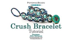 How to Bead Jewelry / Beading Tutorials & Jewel Making Videos / Bracelet Projects / Crush Bracelet Tutorial
