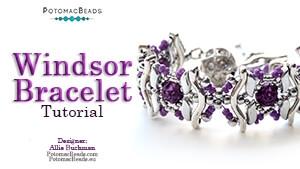 How to Bead Jewelry / Beading Tutorials & Jewel Making Videos / Bracelet Projects / Windsor Bracelet Tutorial