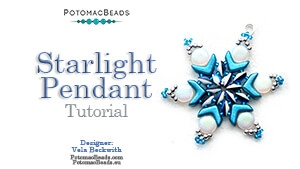 How to Bead / Free Video Tutorials / Pendant Projects / Starlight Pendant Tutorial