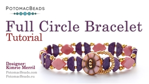 How to Bead / Free Video Tutorials / Bracelet Projects / Full Circle Bracelet Tutorial