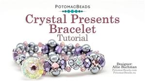 How to Bead Jewelry / Beading Tutorials & Jewel Making Videos / Bracelet Projects / Crystal Presents Bracelet Tutorial