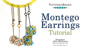 How to Bead Jewelry / Beading Tutorials & Jewel Making Videos / Earring Projects / Montego Earrings Tutorial