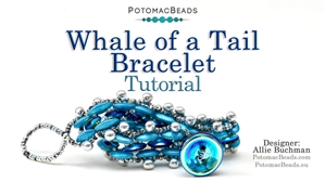 How to Bead Jewelry / Beading Tutorials & Jewel Making Videos / Bracelet Projects / Whale of a Tail Bracelet Tutorial