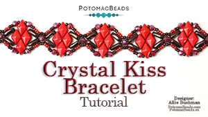How to Bead / Free Video Tutorials / Bracelet Projects / Crystal Kiss Bracelet Tutorial