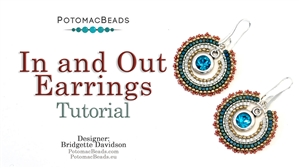 How to Bead Jewelry / Beading Tutorials & Jewel Making Videos / Earring Projects / In and Out Earrings Tutorial