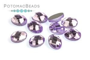 Jewelry Making Supplies & Beads / Beads and Crystals / Crystal Oval Flatbacks