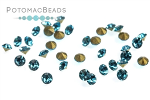 Jewelry Making Supplies & Beads / Beads and Crystals / Chatons SS8 (2.3-2.4mm)