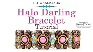 How to Bead / Free Video Tutorials / Bracelet Projects / Halo Darling Bracelet Tutorial