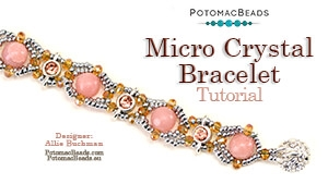 How to Bead / Free Video Tutorials / Bracelet Projects / Micro Crystal Bracelet Tutorial
