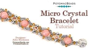 How to Bead Jewelry / Beading Tutorials & Jewel Making Videos / Bracelet Projects / Micro Crystal Bracelet Tutorial