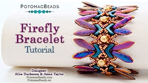 How to Bead Jewelry / Beading Tutorials & Jewel Making Videos / Bracelet Projects / Firefly Bracelet II Tutorial
