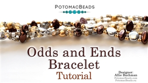 How to Bead Jewelry / Beading Tutorials & Jewel Making Videos / Bracelet Projects / Odds and Ends Bracelet Tutorial