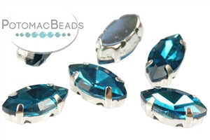 Jewelry Making Supplies & Beads / Beads and Crystals / Navettes in Settings