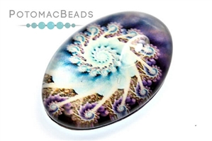 Jewelry Making Supplies & Beads / Cabochons Beads / Glass Cabochons / Glass Cabochons 18x25mm