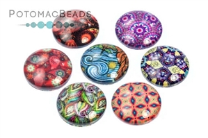 Other Beads & Supplies / Cabochons / Glass Cabochons / Glass Cabochons 14mm