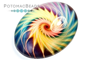 Other Beads & Supplies / Cabochons / Glass Cabochons / Glass Cabochons 30x40mm
