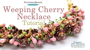 How to Bead / Free Video Tutorials / Necklace Projects / Weeping Cherry Necklace Tutorial