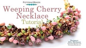 How to Bead Jewelry / Beading Tutorials & Jewel Making Videos / Bead Weaving Tutorials & Necklace Tutorial / Weeping Cherry Necklace Tutorial