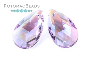 Jewelry Making Supplies & Beads / Beads and Crystals / Crystal Flat Briolettes