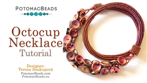 How to Bead / Free Video Tutorials / Necklace Projects / Octocup Necklace Tutorial