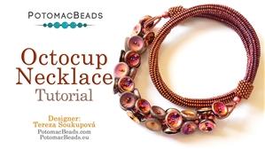 How to Bead Jewelry / Beading Tutorials & Jewel Making Videos / Bead Weaving Tutorials & Necklace Tutorial / Octocup Necklace Tutorial