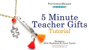 How to Bead / Free Video Tutorials / Stringing & Knotting Projects / Five Minute Teacher's Gifts