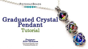 How to Bead / Free Video Tutorials / Pendant Projects / Graduated Crystal Pendant Tutorial