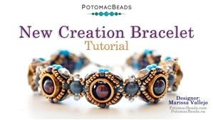 How to Bead / Free Video Tutorials / Bracelet Projects / New Creation Bracelet Tutorial