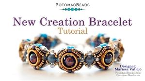 How to Bead Jewelry / Beading Tutorials & Jewel Making Videos / Bracelet Projects / New Creation Bracelet Tutorial