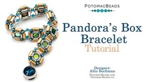 How to Bead / Free Video Tutorials / Bracelet Projects / Pandora's Box Bracelet Tutorial