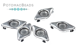 Other Beads & Supplies / Metal Beads & Findings / Potomax Metal Multi-Hole Beads / EyeDuo