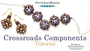 How to Bead Jewelry / Beading Tutorials & Jewel Making Videos / Bracelet Projects / Crossroads Components Tutorial