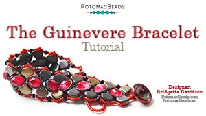 How to Bead Jewelry / Beading Tutorials & Jewel Making Videos / Bracelet Projects / The Guinevere Bracelet Tutorial