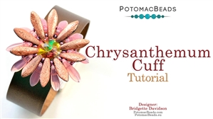 How to Bead / Free Video Tutorials / Bracelet Projects / Chrysanthemum Cuff Tutorial