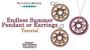 How to Bead Jewelry / Beading Tutorials & Jewel Making Videos / Pendant Projects / Endless Summer Pendant Tutorial