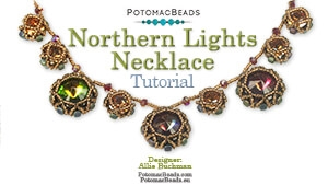How to Bead Jewelry / Beading Tutorials & Jewel Making Videos / Bead Weaving Tutorials & Necklace Tutorial / Northern Lights Necklace Tutorial