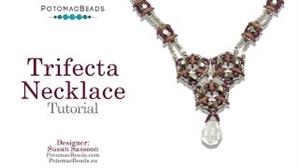 How to Bead Jewelry / Beading Tutorials & Jewel Making Videos / Bead Weaving Tutorials & Necklace Tutorial / Trifecta Necklace Tutorial
