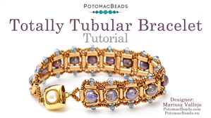 How to Bead Jewelry / Beading Tutorials & Jewel Making Videos / Bracelet Projects / Totally Tubular Bracelet Tutorial