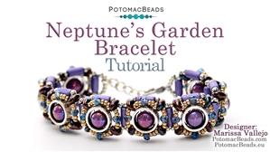 How to Bead / Free Video Tutorials / Bracelet Projects / Neptune's Garden Bracelet Tutorial