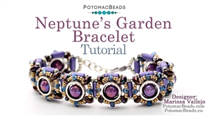 How to Bead Jewelry / Beading Tutorials & Jewel Making Videos / Bracelet Projects / Neptune's Garden Bracelet Tutorial