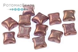 Czech Pressed Glass Beads / WibeDuo Beads