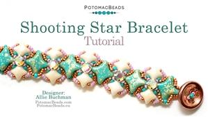 How to Bead Jewelry / Beading Tutorials & Jewel Making Videos / Bracelet Projects / Shooting Star Bracelet Tutorial