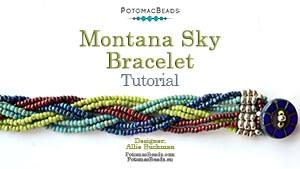 How to Bead / Free Video Tutorials / Bracelet Projects / Montana Sky Bracelet Tutorial
