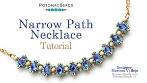 How to Bead / Free Video Tutorials / Necklace Projects / Narrow Path Choker Tutorial
