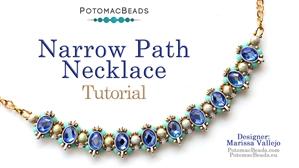 How to Bead Jewelry / Beading Tutorials & Jewel Making Videos / Bead Weaving Tutorials & Necklace Tutorial / Narrow Path Choker Tutorial